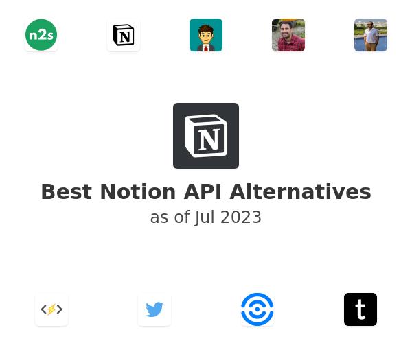 Best Notion API beta Alternatives