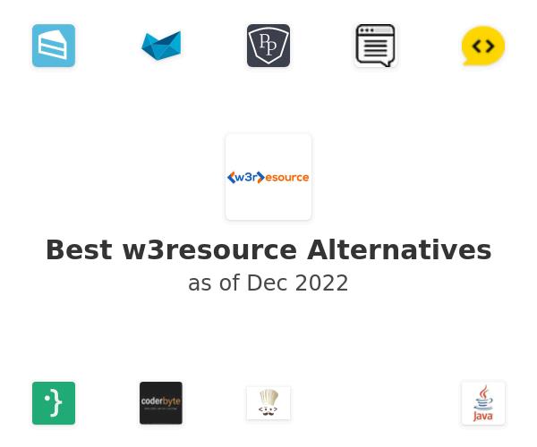 Best w3resource Alternatives