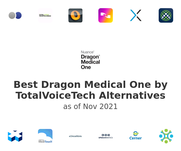 Best Dragon Medical One by TotalVoiceTech Alternatives