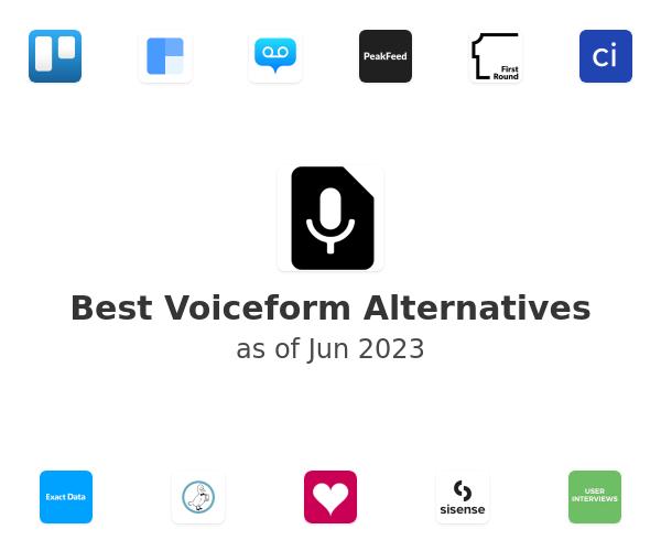 Best Voiceform Alternatives