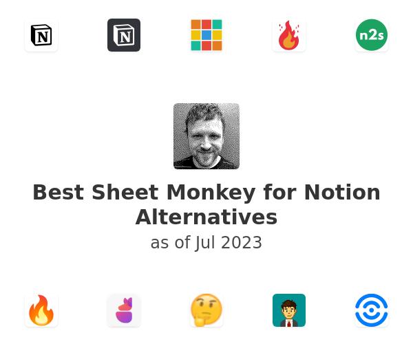 Best Sheet Monkey for Notion Alternatives