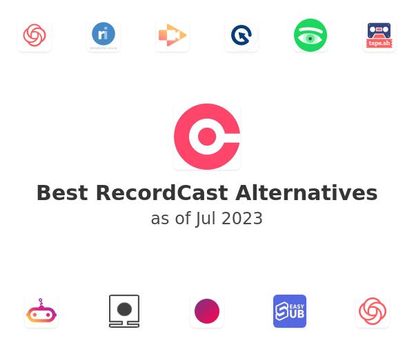 Best RecordCast Alternatives