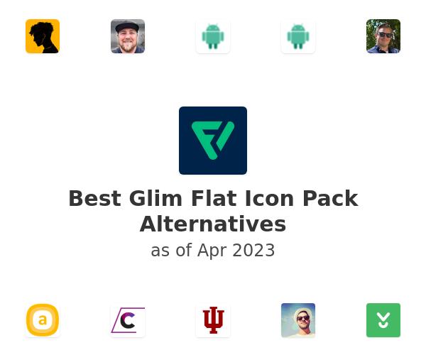 Best Glim Flat Icon Pack Alternatives