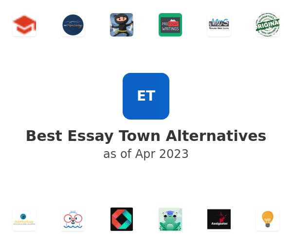 Best Essay Town Alternatives