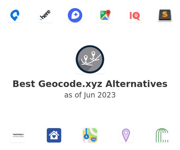 Best Geocode.xyz Alternatives