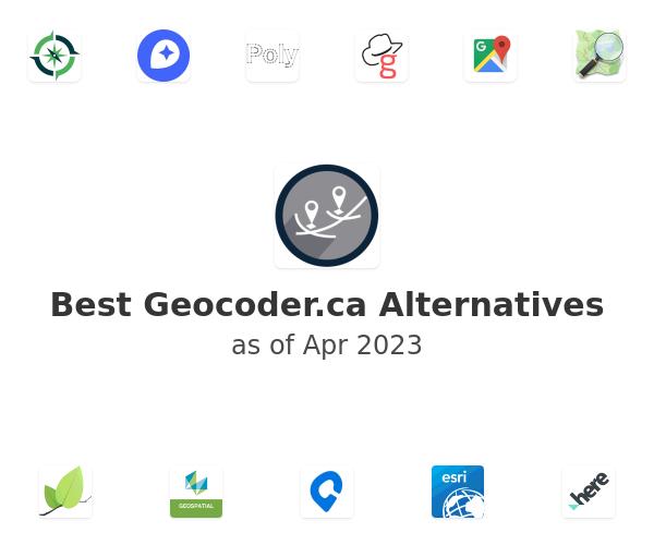 Best Geocoder.ca Alternatives