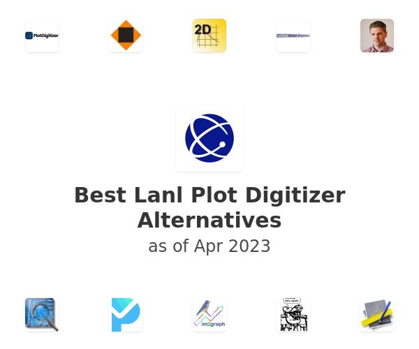 Best Lanl Plot Digitizer Alternatives