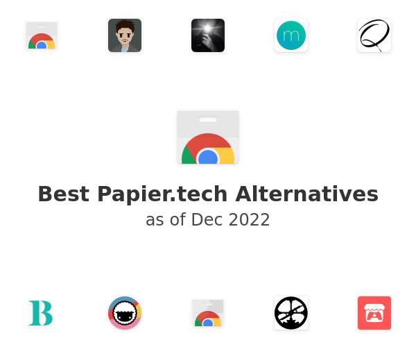 Best Papier.tech Alternatives