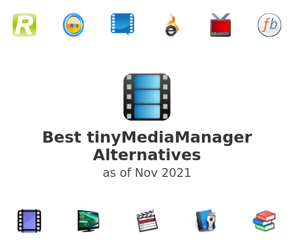 Best tinyMediaManager Alternatives