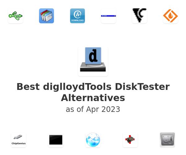 Best diglloydTools DiskTester Alternatives