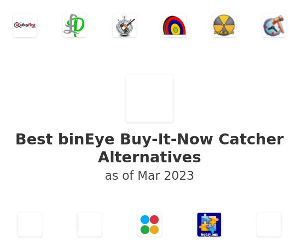 Best binEye Buy-It-Now Catcher Alternatives