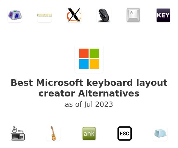 Best Microsoft keyboard layout creator Alternatives