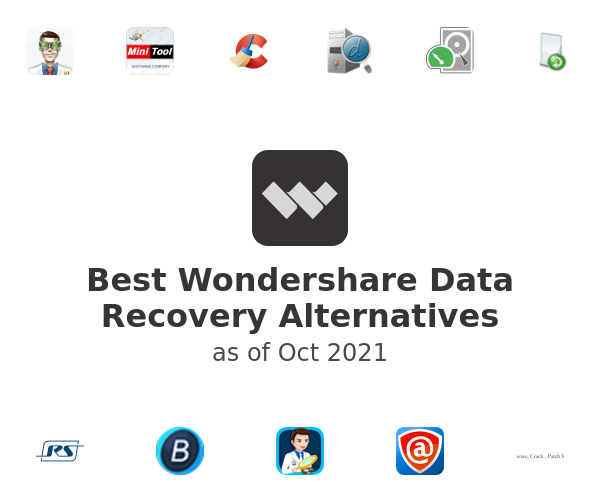 Best Wondershare Data Recovery Alternatives