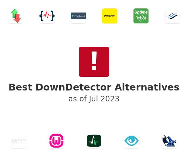 Best DownDetector Alternatives