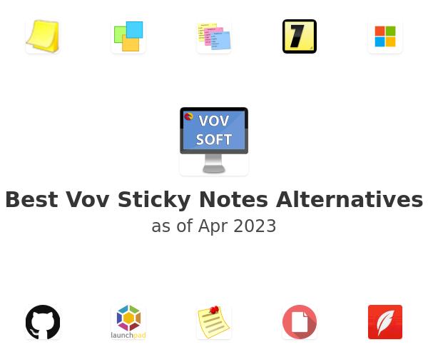 Best Vov Sticky Notes Alternatives