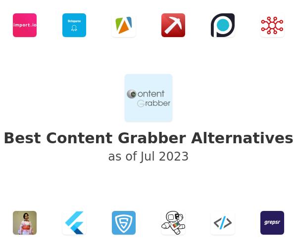 Best Content Grabber Alternatives