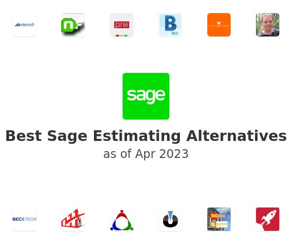 Best Sage Estimating Alternatives