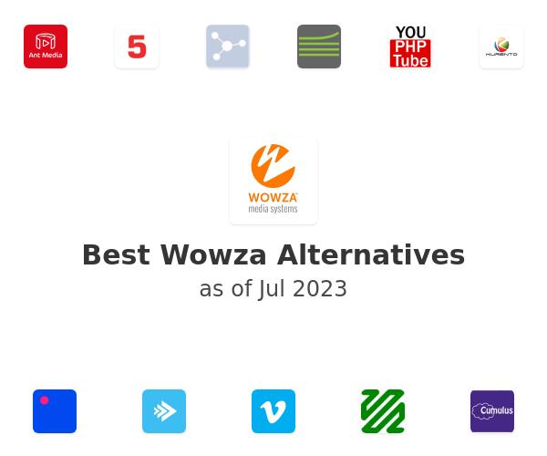 Best Wowza Media Server Alternatives