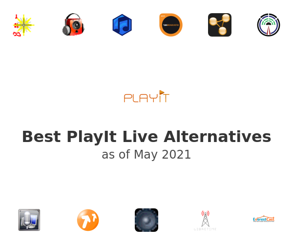 Best PlayIt Live Alternatives