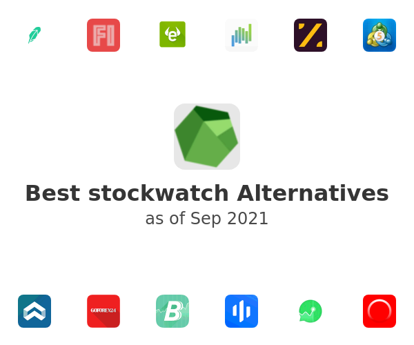 Best stockwatch Alternatives