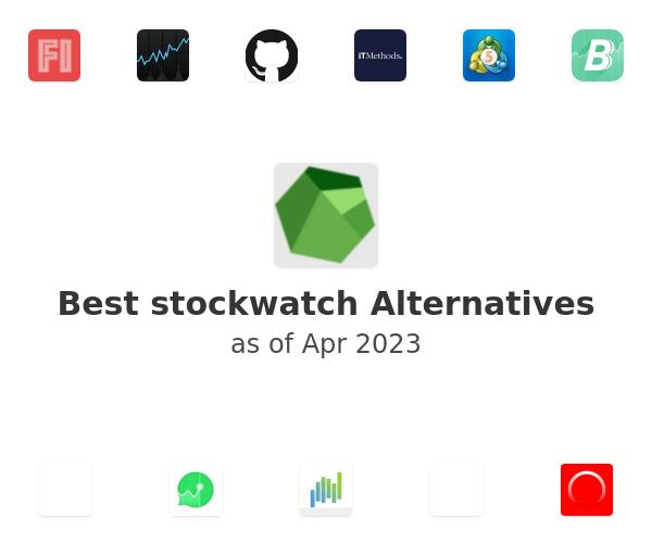 Best stockwatch Alternatives