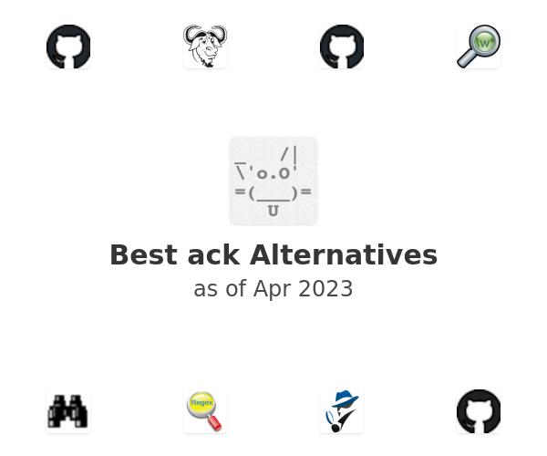 Best ack Alternatives