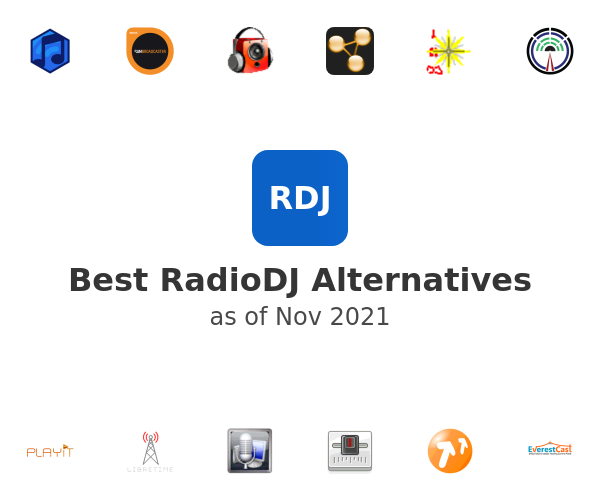 Best RadioDJ Alternatives