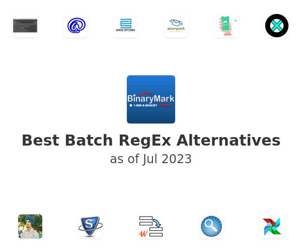Best Batch RegEx Alternatives