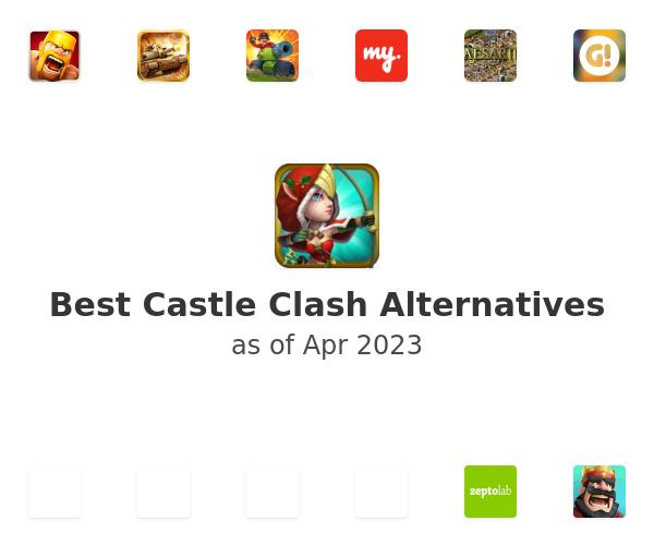 Best Castle Clash Alternatives