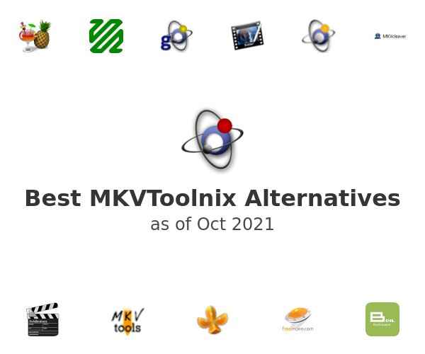 Best MKVToolnix Alternatives