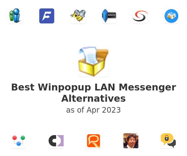 Best Winpopup LAN Messenger Alternatives
