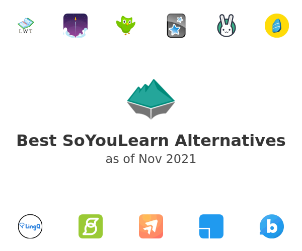 Best SoYouLearn Alternatives
