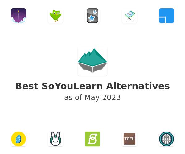 Best SoYouLearn Alternatives