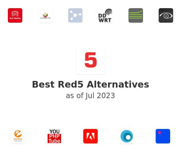 Best Red5 Alternatives