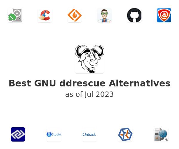 Best GNU ddrescue Alternatives