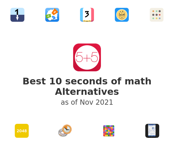 Best 10 seconds of math Alternatives