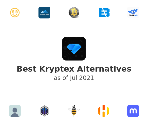 Best Kryptex Alternatives