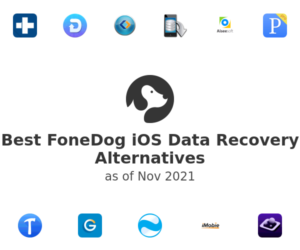 Best FoneDog iOS Data Recovery Alternatives