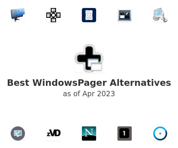 Best WindowsPager Alternatives
