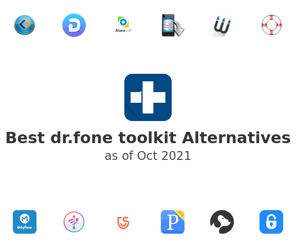 Best dr.fone toolkit Alternatives
