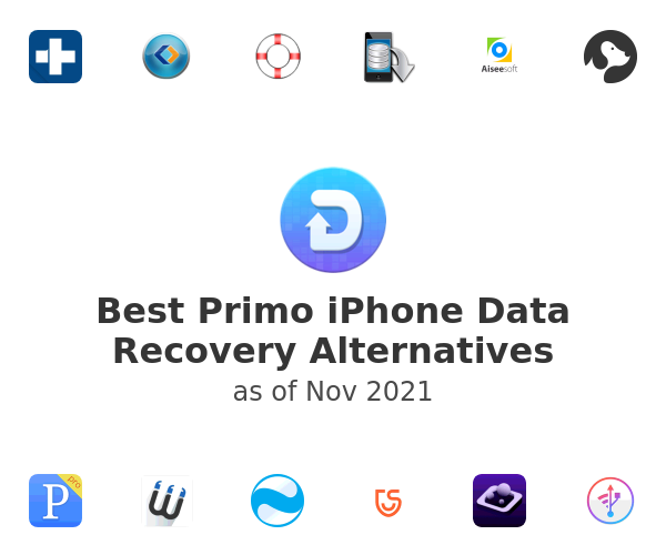 Best Primo iPhone Data Recovery Alternatives