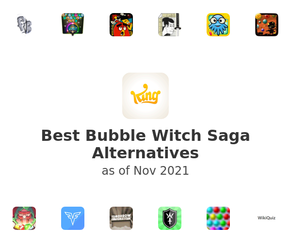 Best Bubble Witch Saga Alternatives