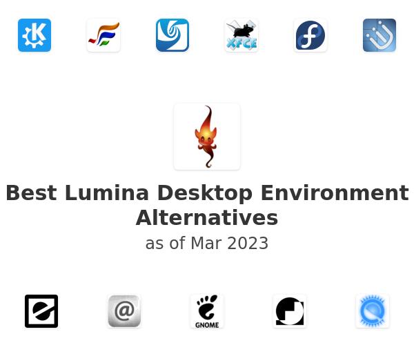 Best Lumina Desktop Environment Alternatives