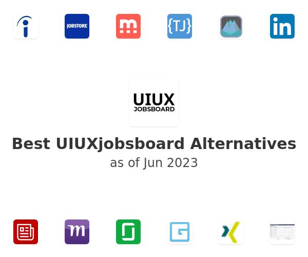 Best UIUXjobsboard Alternatives