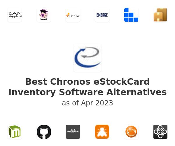 Best Chronos eStockCard Inventory Software Alternatives
