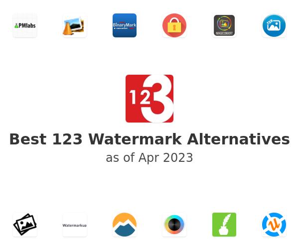 Best 123 Watermark Alternatives
