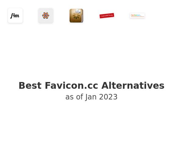 Best Favicon.cc Alternatives