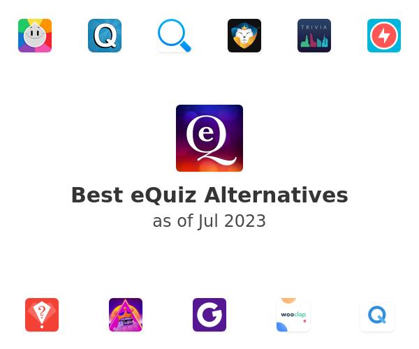 Best eQuiz Alternatives