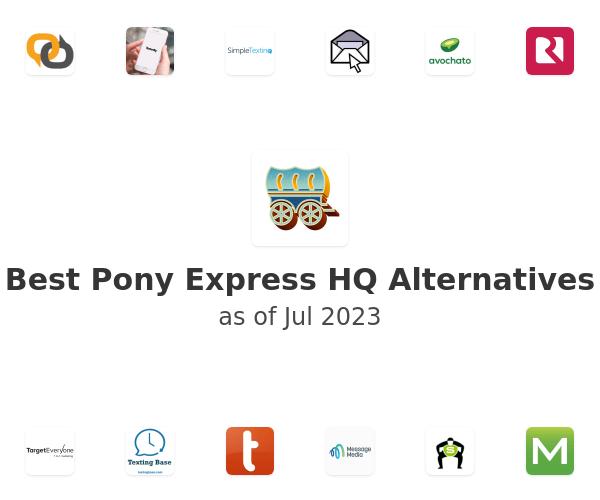 Best Pony Express HQ Alternatives