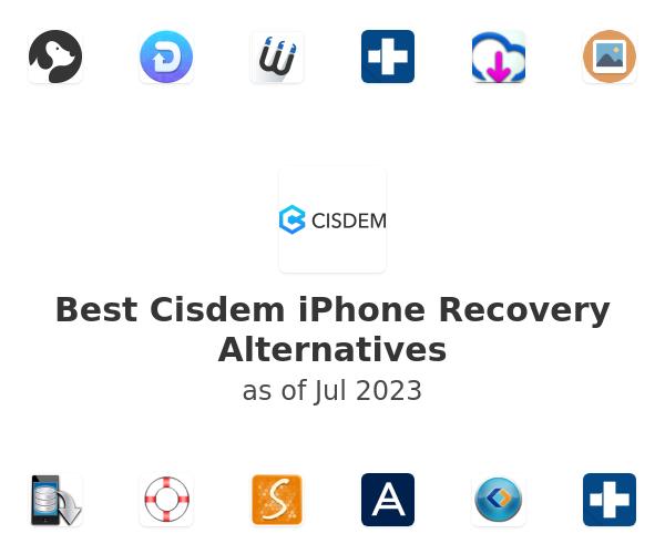 Best Cisdem iPhone Recovery Alternatives